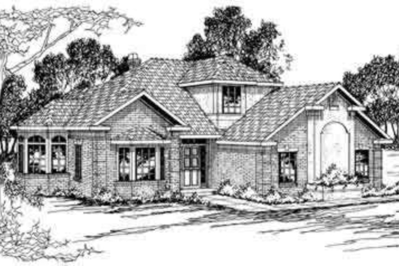 Exterior - Front Elevation Plan #124-191