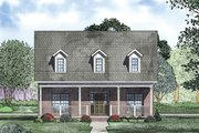 Traditional Style House Plan - 2 Beds 2 Baths 2106 Sq/Ft Plan #17-2423 Exterior - Other Elevation