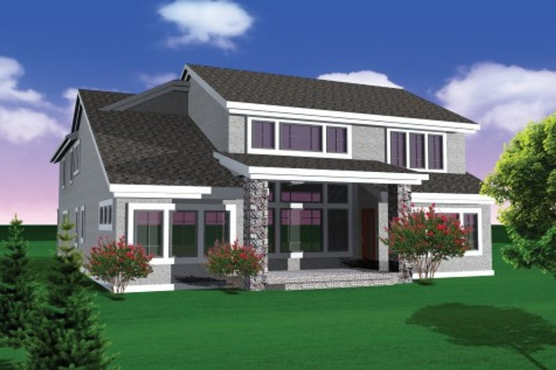 Traditional Exterior - Other Elevation Plan #70-1108 - Houseplans.com