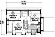Colonial Style House Plan - 3 Beds 1 Baths 2250 Sq/Ft Plan #25-4859 Floor Plan - Upper Floor Plan