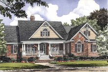 Architectural House Design - Country Exterior - Front Elevation Plan #929-354