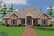 Traditional Style House Plan - 3 Beds 2 Baths 1983 Sq/Ft Plan #8-106 Exterior - Front Elevation