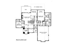 European Floor Plan - Main Floor Plan Plan #413-148