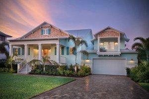 Cottage Exterior - Front Elevation Plan #938-87