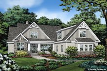 Craftsman Exterior - Front Elevation Plan #929-1110