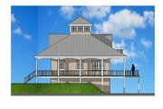 Southern Style House Plan - 2 Beds 2 Baths 1840 Sq/Ft Plan #481-12 Exterior - Other Elevation