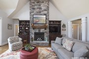 Craftsman Style House Plan - 4 Beds 4 Baths 2966 Sq/Ft Plan #929-988 Interior - Family Room
