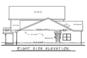 Traditional Style House Plan - 4 Beds 3.5 Baths 2338 Sq/Ft Plan #20-2441 Exterior - Other Elevation