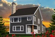 Craftsman Exterior - Rear Elevation Plan #70-1221