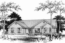 House Plan Design - Ranch Exterior - Other Elevation Plan #22-457