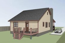 Home Plan - Craftsman Exterior - Other Elevation Plan #79-269