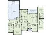European Style House Plan - 4 Beds 4.5 Baths 3390 Sq/Ft Plan #17-2497