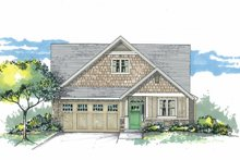 Home Plan - Craftsman Exterior - Front Elevation Plan #53-602