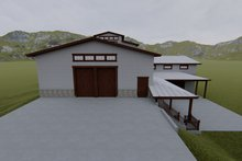 Dream House Plan - Farmhouse Exterior - Front Elevation Plan #1060-80