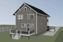 Craftsman Exterior - Other Elevation Plan #79-267