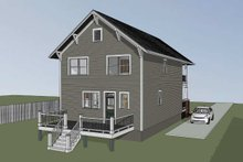Dream House Plan - Craftsman Exterior - Other Elevation Plan #79-267