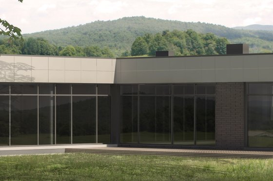 Contemporary Exterior - Front Elevation Plan #906-11