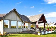 Craftsman Exterior - Rear Elevation Plan #1070-15