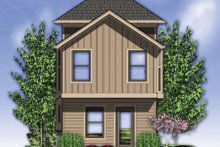 Craftsman Exterior - Rear Elevation Plan #48-569