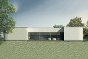 Contemporary Style House Plan - 3 Beds 2 Baths 2347 Sq/Ft Plan #906-2 Exterior - Front Elevation