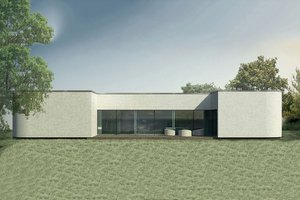 Contemporary Exterior - Front Elevation Plan #906-2