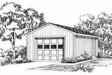 Traditional Exterior - Front Elevation Plan #72-244