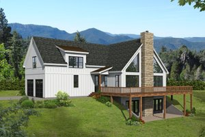 Traditional Exterior - Front Elevation Plan #932-426