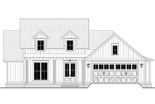 Architectural House Design - Farmhouse Exterior - Front Elevation Plan #430-250