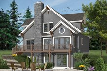 European Exterior - Front Elevation Plan #23-2513