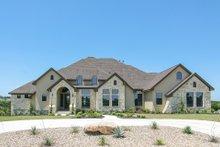 Dream House Plan - European Exterior - Front Elevation Plan #80-160
