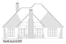 House Plan Design - Craftsman Exterior - Rear Elevation Plan #17-2589