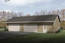 House Plan Design - Traditional Exterior - Front Elevation Plan #22-408