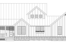 Country Exterior - Front Elevation Plan #932-68