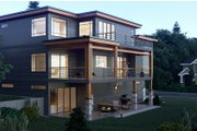 Contemporary Style House Plan - 5 Beds 5.5 Baths 5185 Sq/Ft Plan #1066-34 Exterior - Other Elevation