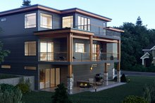 Architectural House Design - Contemporary Exterior - Other Elevation Plan #1066-34