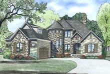 Dream House Plan - European Exterior - Other Elevation Plan #17-2499