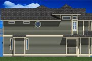 Victorian Style House Plan - 3 Beds 2.5 Baths 4911 Sq/Ft Plan #126-168 Exterior - Other Elevation
