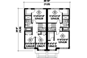 House Plan - 5 Beds 2 Baths 2392 Sq/Ft Plan #25-4517 Floor Plan - Upper Floor Plan