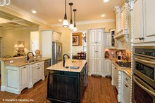 Dream House Plan - European Interior - Kitchen Plan #929-59