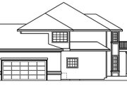 European Style House Plan - 3 Beds 3.5 Baths 3984 Sq/Ft Plan #124-500 Exterior - Other Elevation
