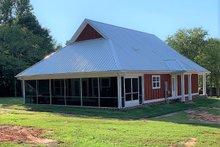 House Plan Design - Cottage Exterior - Rear Elevation Plan #44-165