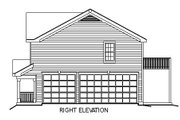 European Style House Plan - 2 Beds 1 Baths 929 Sq/Ft Plan #57-186 Exterior - Other Elevation