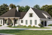Traditional Style House Plan - 4 Beds 3 Baths 3507 Sq/Ft Plan #406-9664 Exterior - Other Elevation