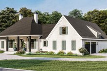 House Plan Design - Traditional Exterior - Other Elevation Plan #406-9664