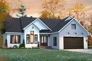 Farmhouse Style House Plan - 3 Beds 2 Baths 2117 Sq/Ft Plan #23-2723 Exterior - Front Elevation
