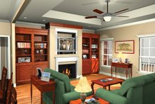 Dream House Plan - Southern Exterior - Other Elevation Plan #21-208