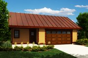 Traditional Style House Plan - 0 Beds 0 Baths 836 Sq/Ft Plan #118-179