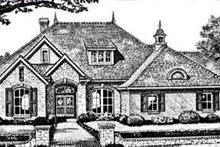 Dream House Plan - European Exterior - Front Elevation Plan #310-246