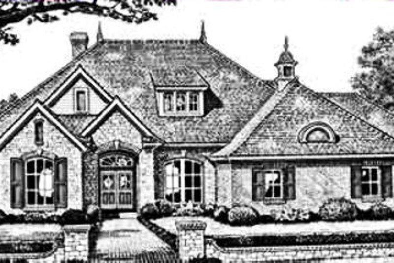 Home Plan - European Exterior - Front Elevation Plan #310-246