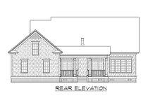 Dream House Plan - Craftsman Exterior - Rear Elevation Plan #1054-62